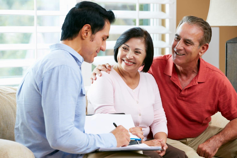 senior couple in consultation | Clarity Hearing
